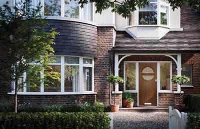 Solid Core 1930's style composite door