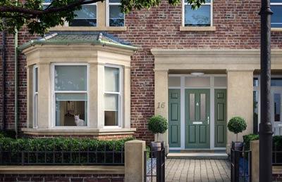 Solid Core Victorian style composite door