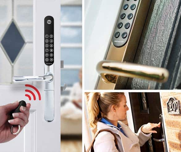 Smart Keyfree Door Locks