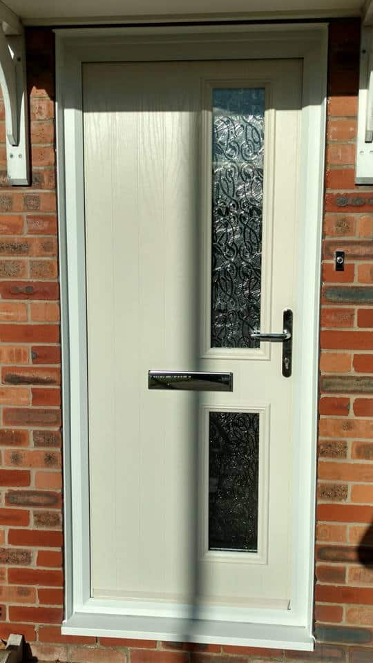 Narrow Composite Door