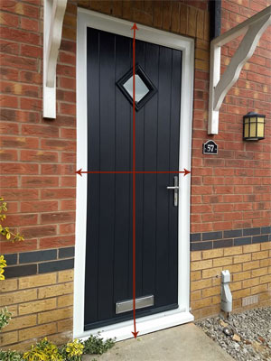 How to measure for your new composite door